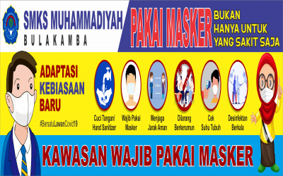 Pelaksanaan PTM Terbatas SMKS Muhammadiyah Bulakamba